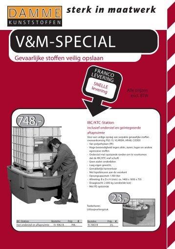 V&M-SPECIAL - Damme Kunststoffen