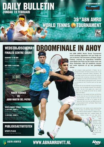 CHANDISING WORLD TENNIS TOURNAMENT 39 ABN AMRO - Ahoy