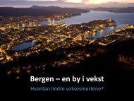 Monica Mæland, Bergen kommune