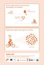 Annonspelare Cykla fint-kampanj
