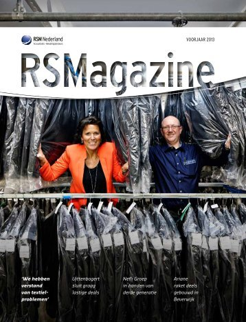 RSMagazine voorjaar 2013 - Paapstvandam