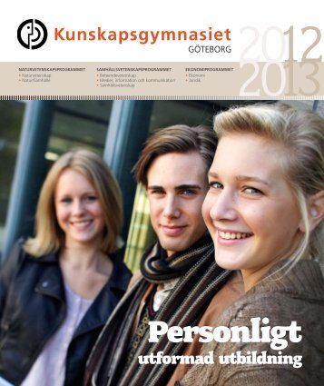 Personligt - Kunskapsskolan