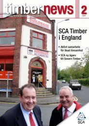 SCA Timber i England - SCA Forest Products AB