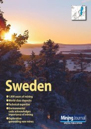 Mining Journal special publication: Sweden