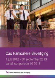cao PB 2012 - 2013 VANAF loonperiode 10.pdf - FNV Beveiliging
