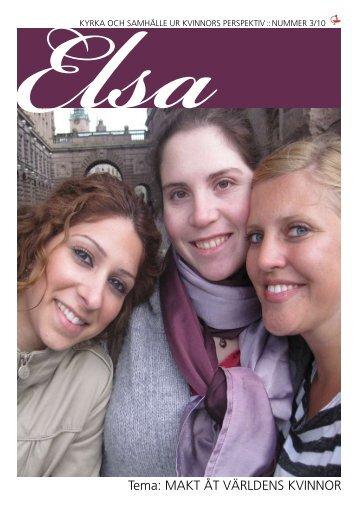 tema: mAKt åt världens Kvinnor - Sveriges Ekumeniska kvinnoråd