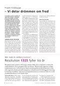 tema: mAKt åt världens Kvinnor - Sveriges Ekumeniska kvinnoråd - Page 4
