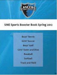 GO LANCERS! - SME Booster Club - SME Sports