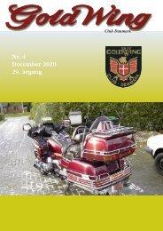Nr. 4 December 2010 29. årgang - GoldWing Club Danmark