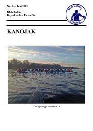 Nr. 3 - juni 2013 - Kajakklubben Esrum Sø