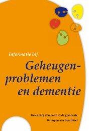 Geheugen- problemen en dementie - Vierstroom