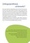 Geheugen- problemen en dementie - Vierstroom - Page 5