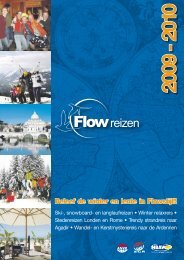 Beleef de winter en lente in Flowstijl!! - Flow Reizen