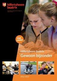 Informatiebrochure 2012-2013 - Hilfertsheem-Beatrix College