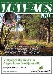 nr. 5/2010 - luthagsnytt