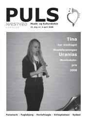 Puls nr. 4 sæson 07/08 - Næstved Musik- og Kulturskole