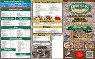 Lunch Pastas & EntrÉEs 10.00 - Goodfellas USA