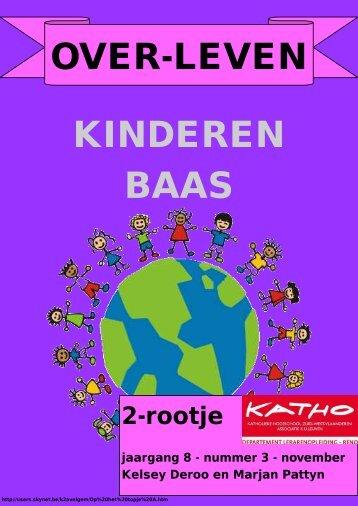 OVER-LEVEN KINDEREN BAAS - Katho