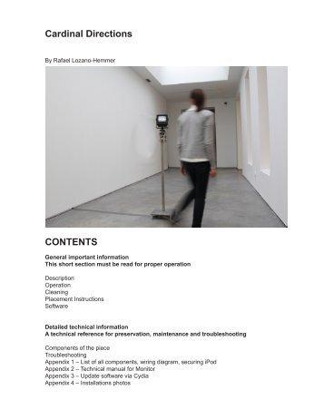 cardinal directions.pdf - Rafael Lozano-Hemmer