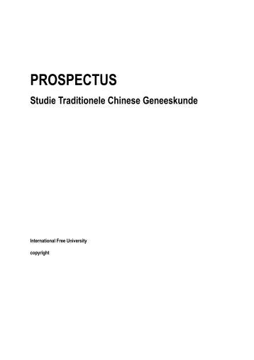 PROSPECTUS - IFU