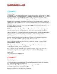 Læs hvad der er blevet skrivet efter at - Odder Skytteforening