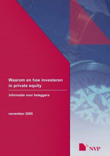 Waarom en hoe investeren in private equity - Nvp
