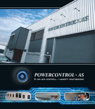 Last ned vår PDF Katalog - POWERCONTROL AS