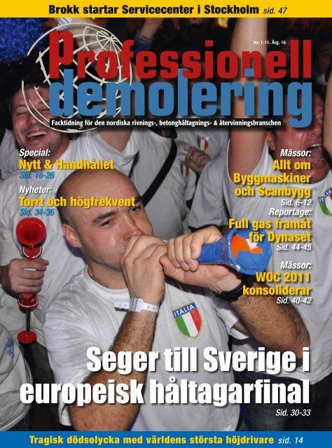 Seger till Sverige i europeisk håltagarfinal - PDWorld