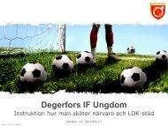 Degerfors IF Ungdom - Svenskalag.se