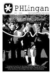 Phlingan nr 2 2002 - Gymnastik- och idrottshögskolan