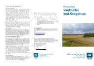 Vindmøller ved Krogstrup - Vesthimmerlands Kommune ...