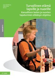 Turvallinen elämä lapsille ja nuorille -ohjelma - THL