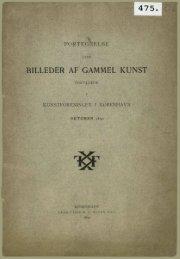 BILLEDER AF GAMMEL KUNST