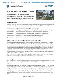 2024 LEJONETS FÖRSKOLA 950 m - Lidingö stad