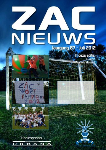 Jaargang 87 - Juli 2012 - Zac