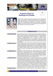 Protective Paints on Buildings and Façades - FAKOLITH