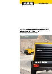 mobilair - KAESER Kompressorer