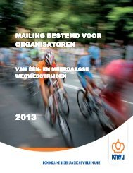 mailing organisatoren 2013 - Kenniscentrum Events