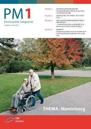 Participatie Magazine nr. 1 - JSO