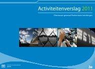 Activiteitenverslag 2011 van het directoraat-generaal Penitentiaire ...