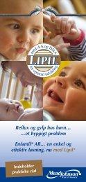 Reflux og gylp hos børn… - Mead Johnson Nutrition
