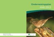 ambities van het anB voor 2013 op hoofdlijnen - Bestuurszaken