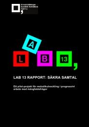 Lab 13 Rapport Säkra samtal.pdf - Riksutställningar