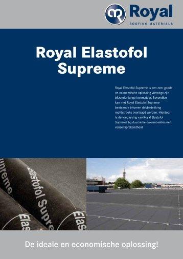 Royal Elastofol Supreme - Vlutters Dakmaterialen BV