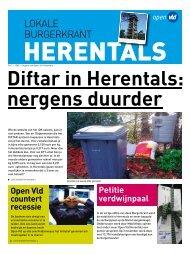 LOKALE BURGERKRANT - Open VLD Herentals