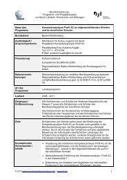 Kompetenzanalyse Profil AC an allgemeinbildenden und ...