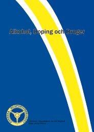 alkohol, doping och droger.pdf - Svenska Bilsportförbundet