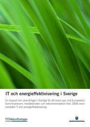 IT och energieffektivisering i Sverige - Regeringen