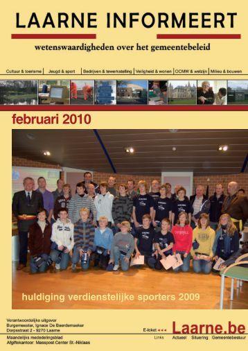 infoblad februari 2010 - Gemeente Laarne
