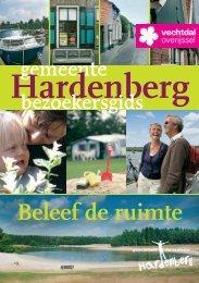 Beleef Hardenberg! Download hier onze uitgebreide bezoekersgids